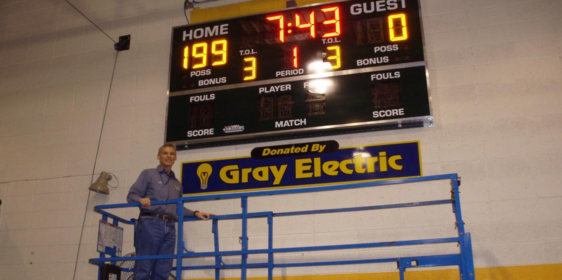 Gray Electric is Community minded